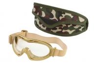 Защитные очки с прозрачным стеклом