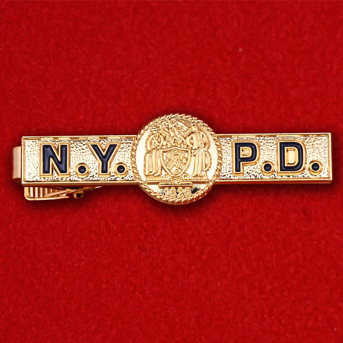 """Зажим для галстука """"Управление полиции Нью-Йорка"""""""