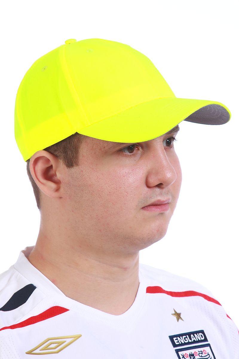 Желтая бейсболка - купить в интернет-магазине с доставкой