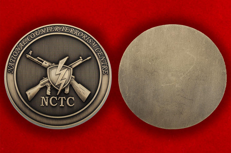 Жетон Национального Антитеррористического Центра США - аверс и реверс