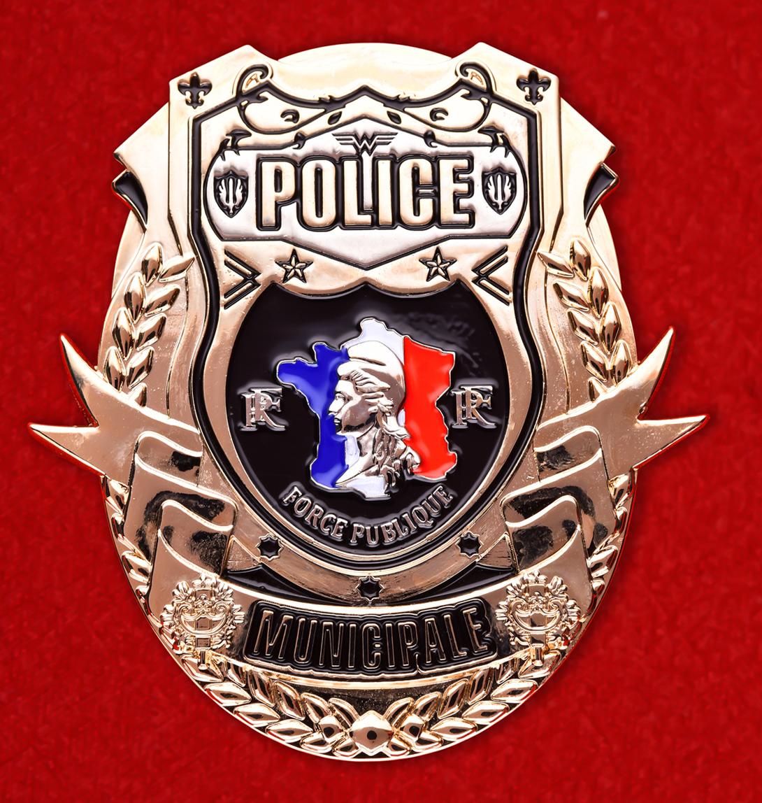 Жетон полиции Франции