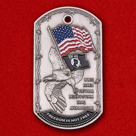 """Жетон """"В память о пропавших без вести военнослужащих Армии США"""""""