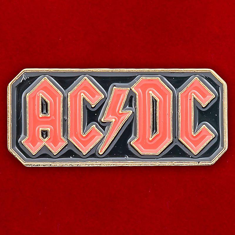 """Значок """"AC DC"""""""