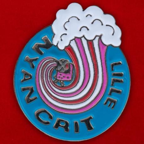 Значок агентства сезонных работ Crit, Лилль, Франция