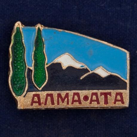 Значок Алма-Аты