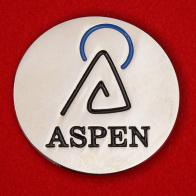 Подарочный корпоративный значок компании Aspen