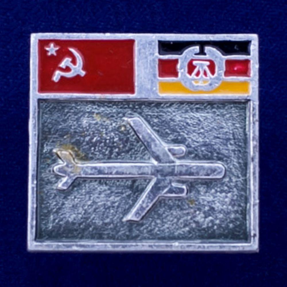 Значок Авиалинии СССР-ГДР
