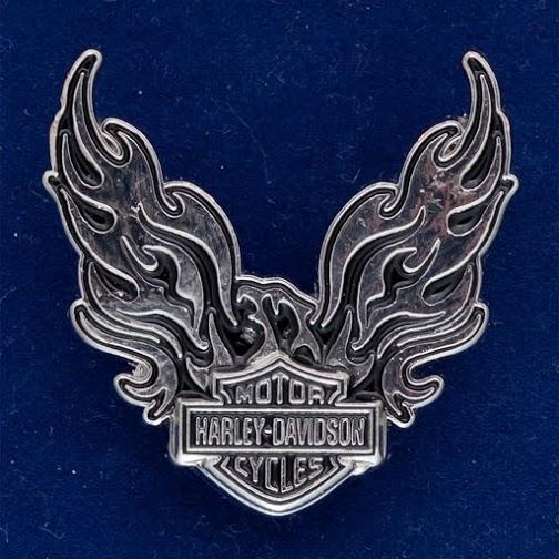 "Значок байкеров ""Harley-Davidson"""