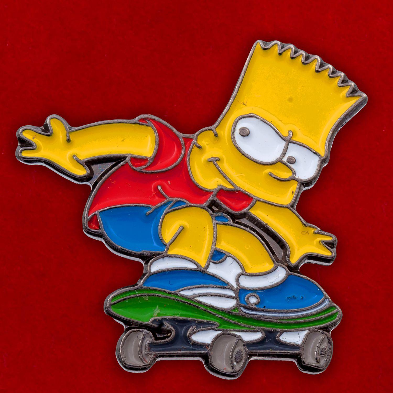 "Значок ""Барт Симпсон"""