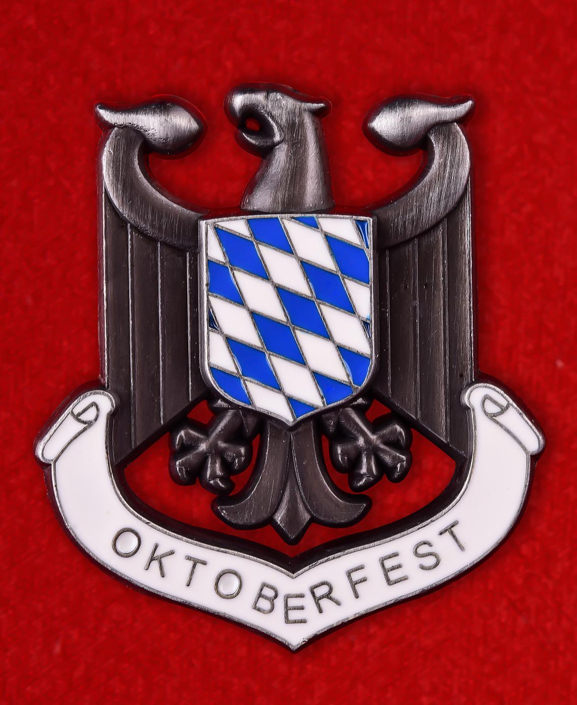 """Значок Баварии """"Oktoberfest"""""""