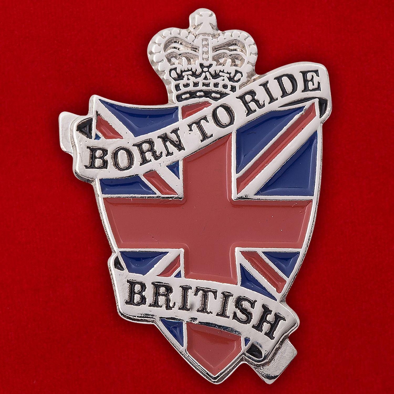Значок британских байкеров