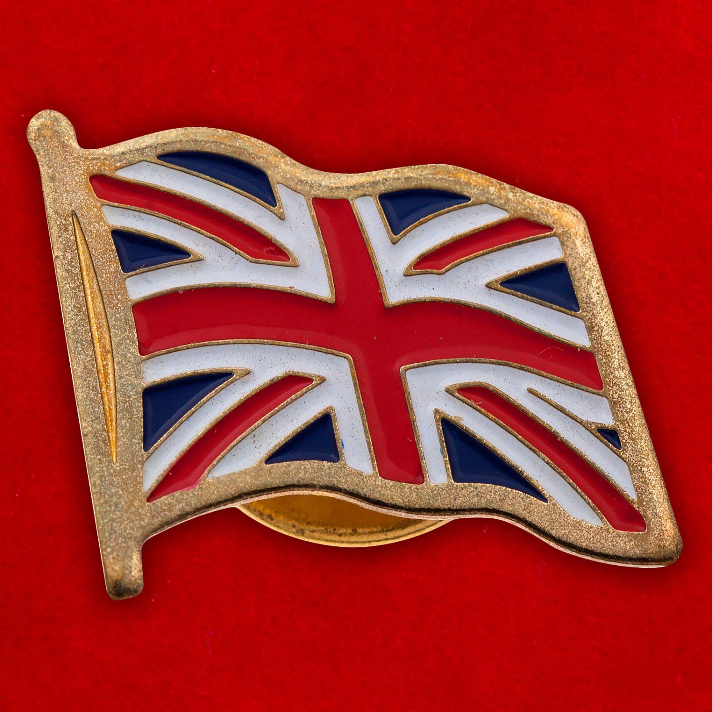 "Значок ""Британский флаг"""
