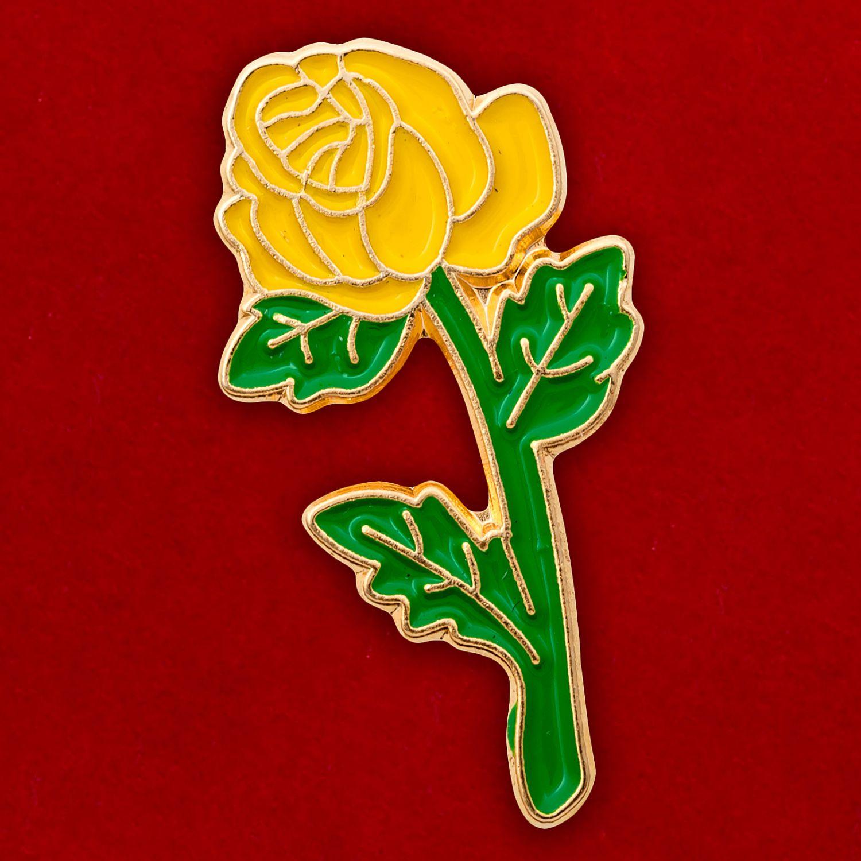 "Значок ""Бутон розы"""