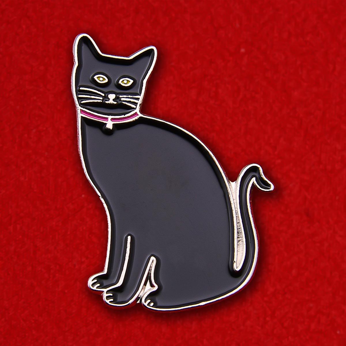 """Значок """"Черный кот"""""""