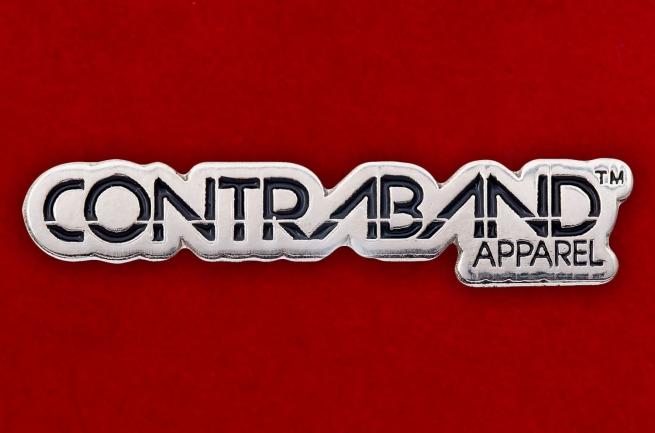 "Значок ""Contraband Apparel"""
