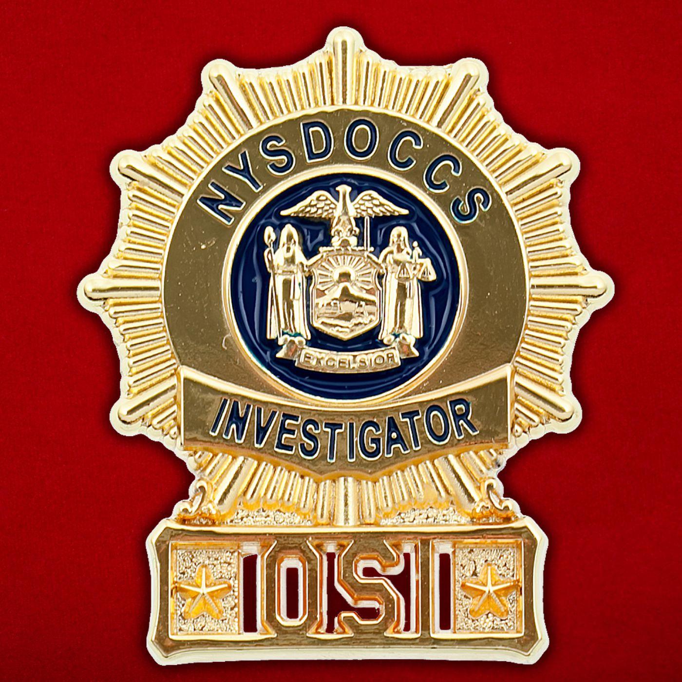 Значок Департамента исправительных учреждений штата Нью-Йорк