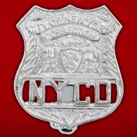 Нагрудный знак Департамента по надзору за заключенными города Нью-Йорка