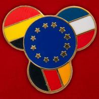 """Значок ЕС """"Франция-Бельгия-Германия"""""""