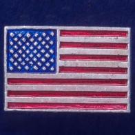 """Значок """"Флаг Америки"""""""