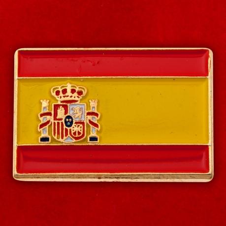 """Значок """"Флаг Испании"""""""