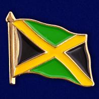 "Значок ""Флаг Ямайки"""