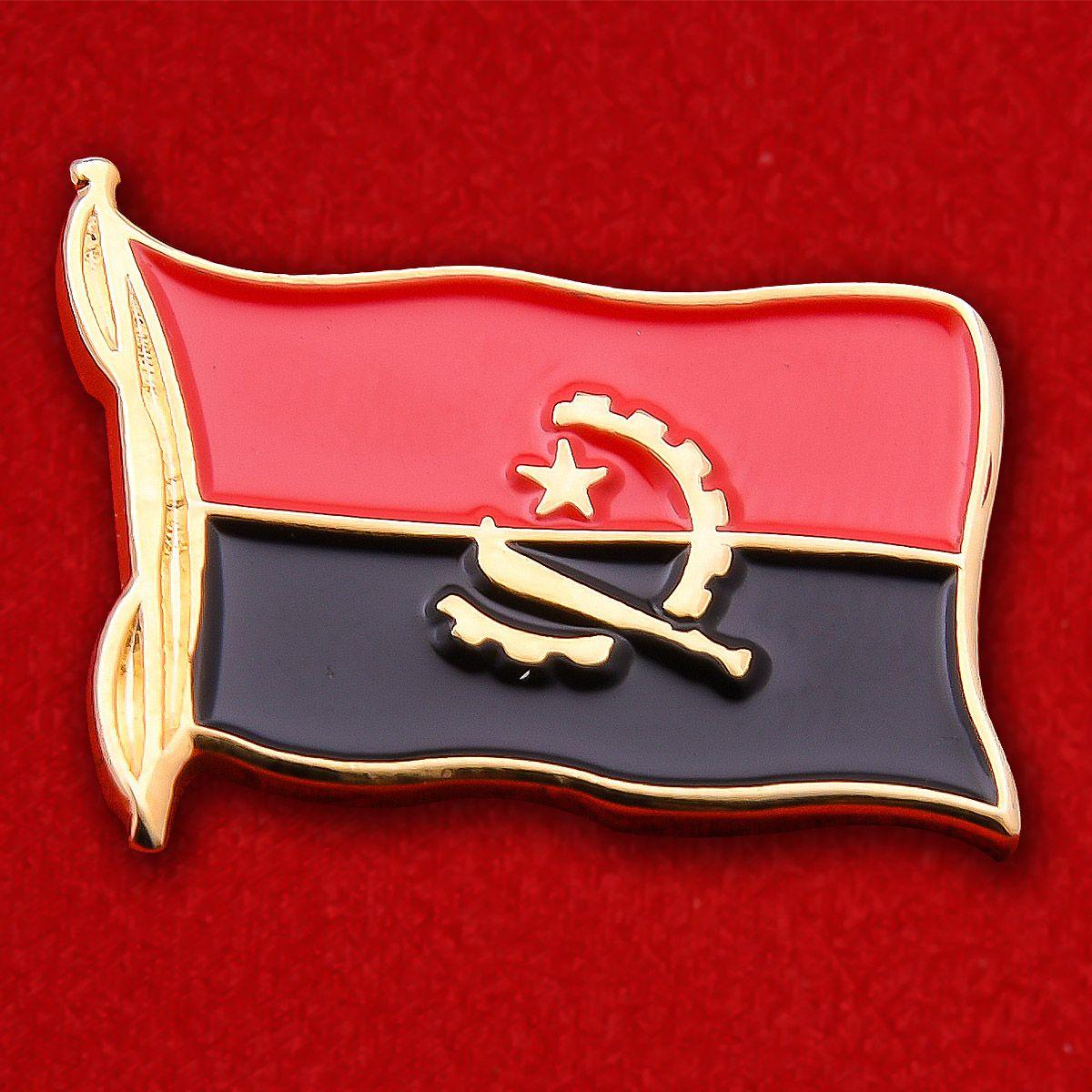Значок Флага Анголы