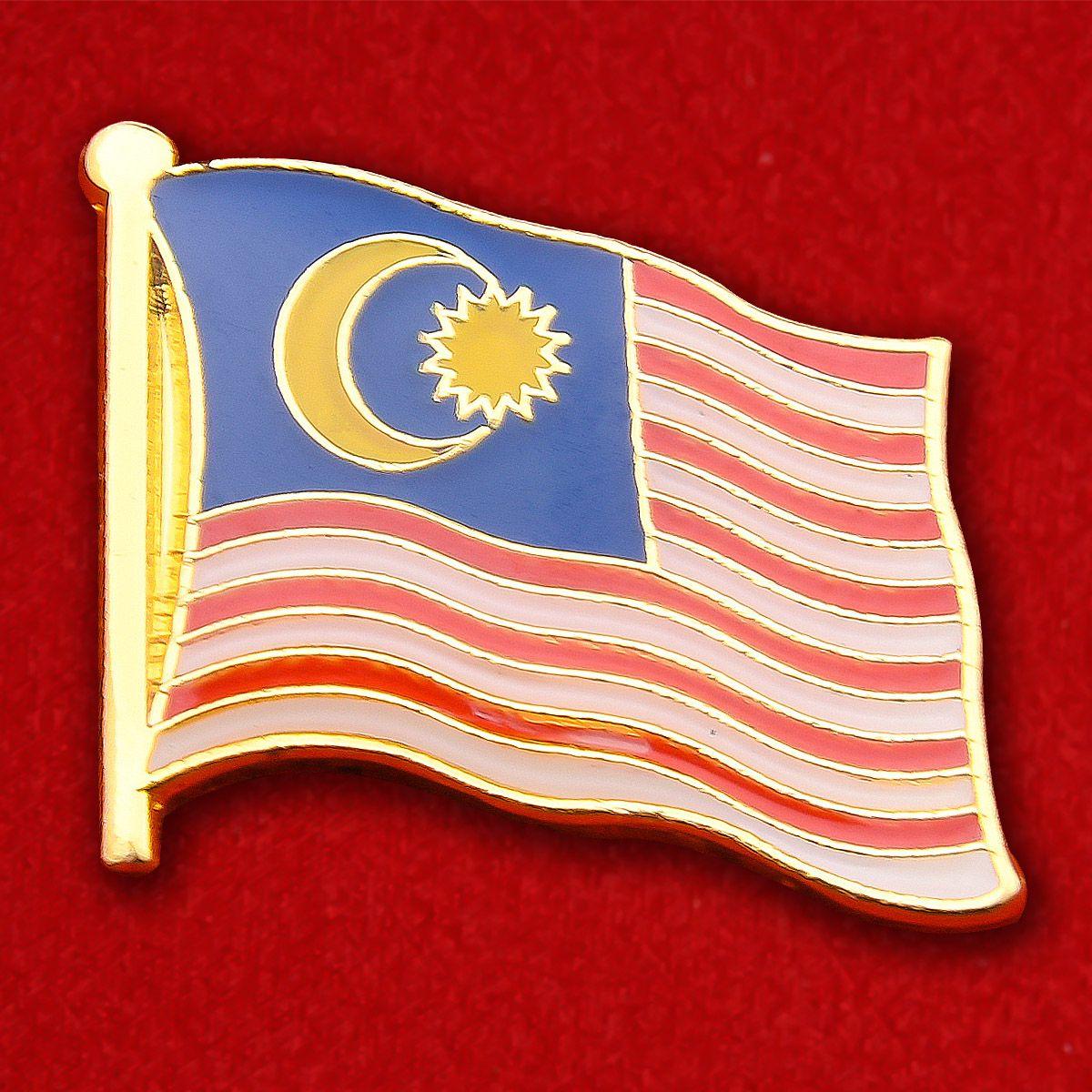 Значок Флага Малайзии