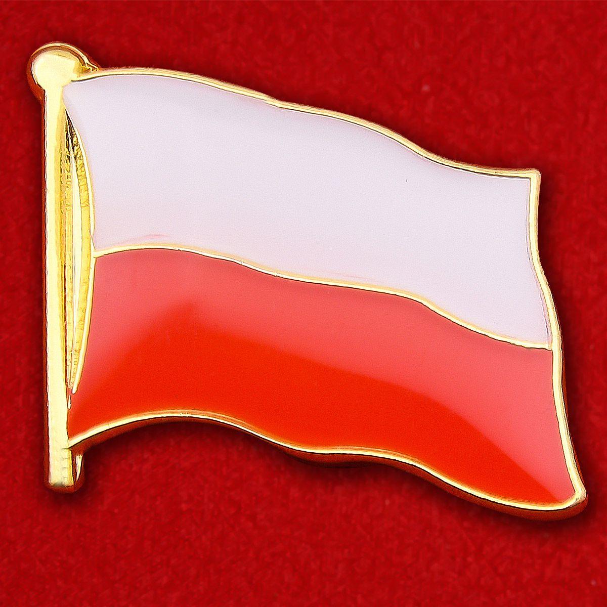Значок Флага Польши