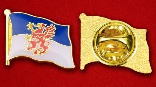 Значок Флага Померании - аверс и реверс