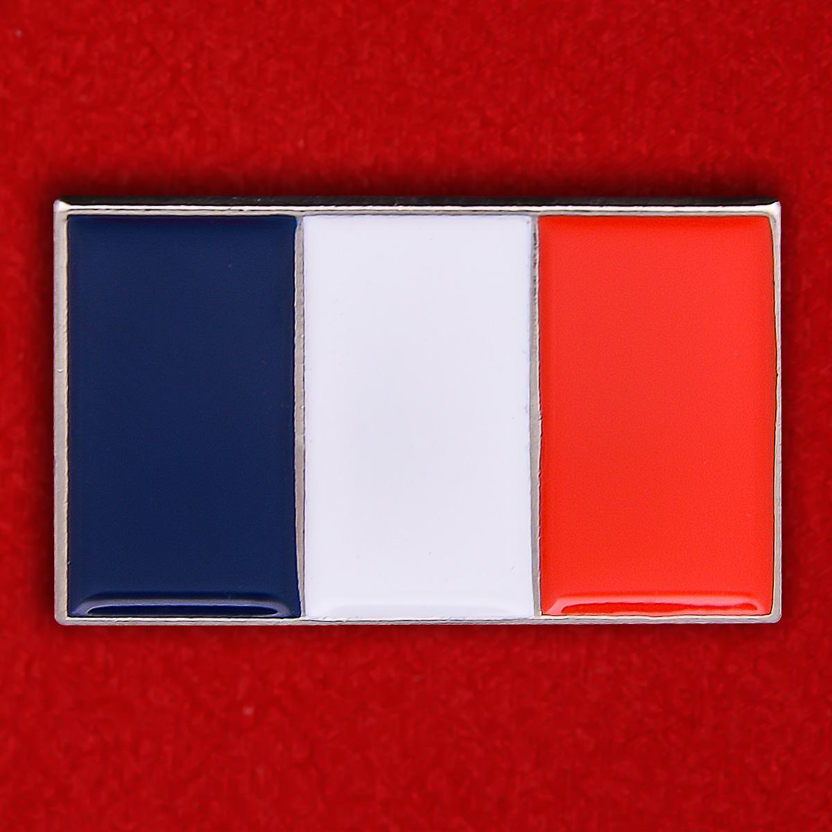 """Значок """"Франция"""""""