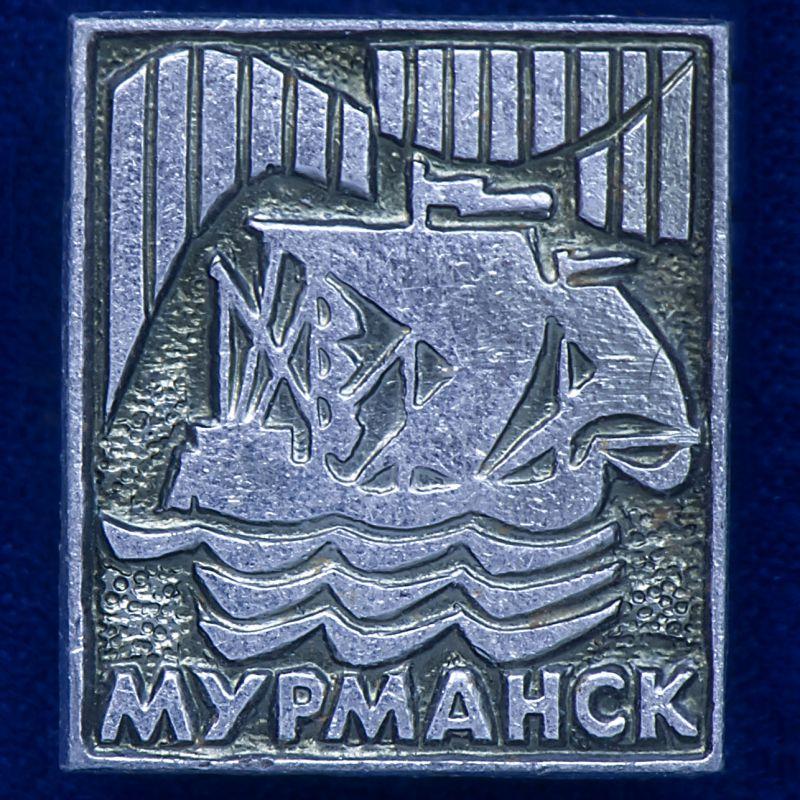 "Значок ""г. Мурманск"""
