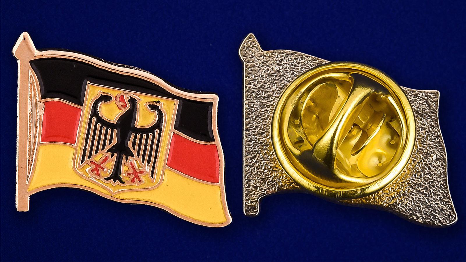 """Значок """"Германия с орлом"""" - аверс и реверс"""