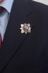 Знак ГИБДД За отличие в службе-на пиджаке