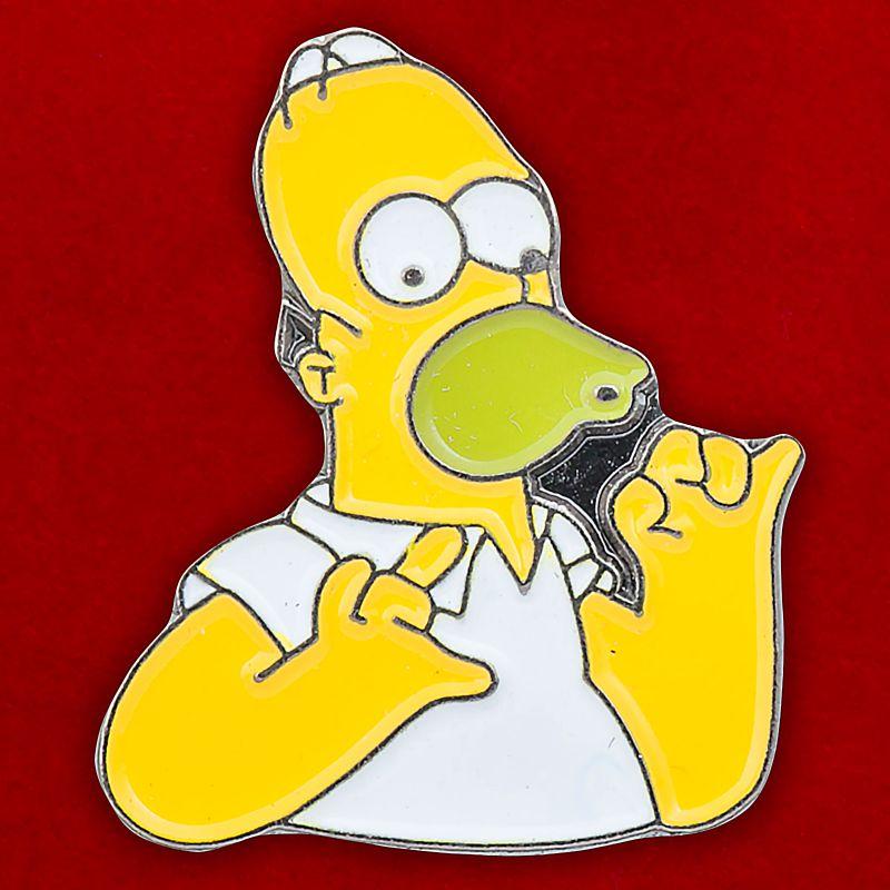 """Значок """"Гомер Симпсон"""""""