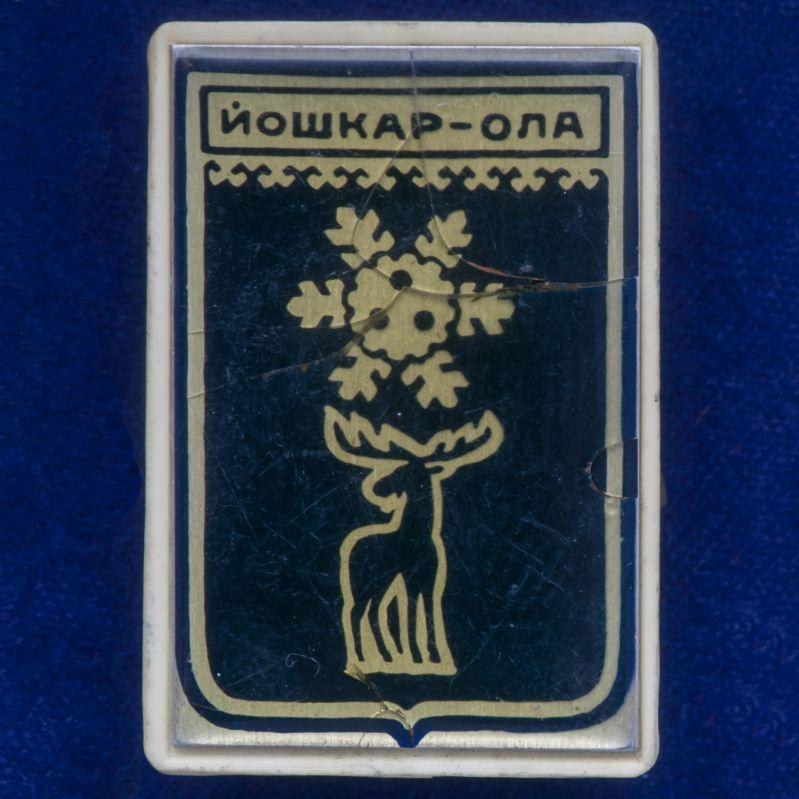 """Значок города """"Йошкар-Ола"""""""