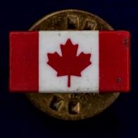 "Значок ""Канадский флаг"""
