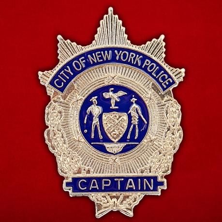 Значок капитана полиции Нью-Йорка