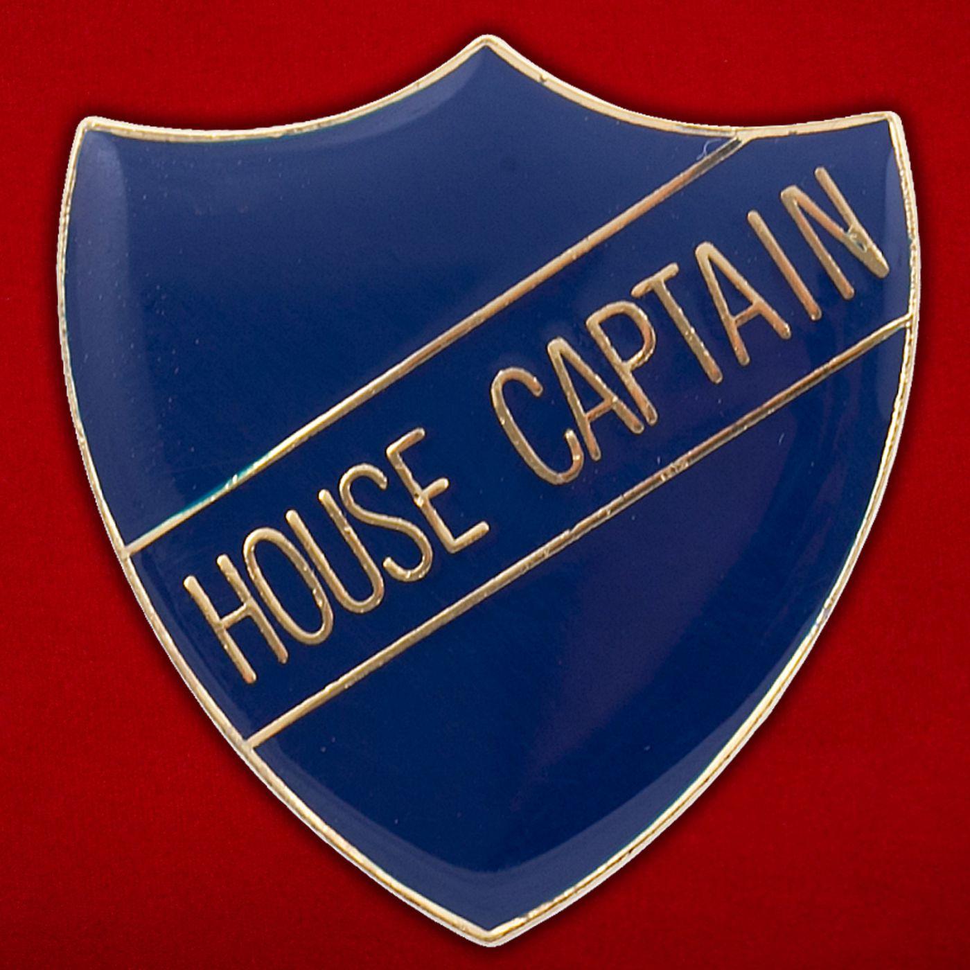 Значок капитана школьной команды