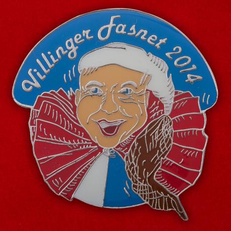 Значок Карнавала в Филлингене (2014 год)