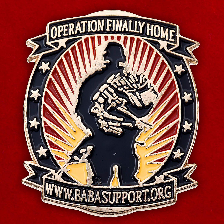 Значок компании-застройщика для инвалидов и ветеранов военных действий (США)