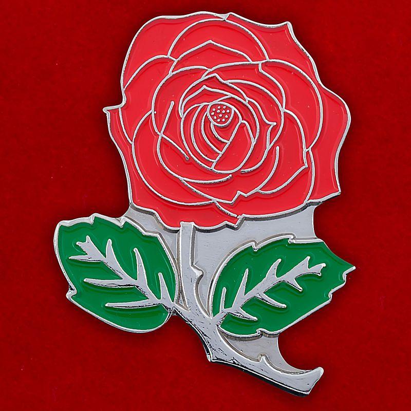 """Значок """"Красная роза"""""""