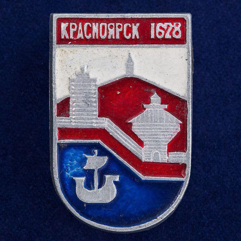 """Значок """"Красноярск. 1628"""""""