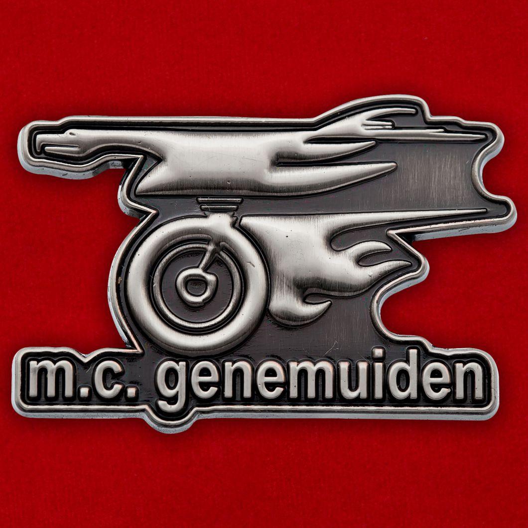 """Значок мотоклуба """"Генемейден"""""""