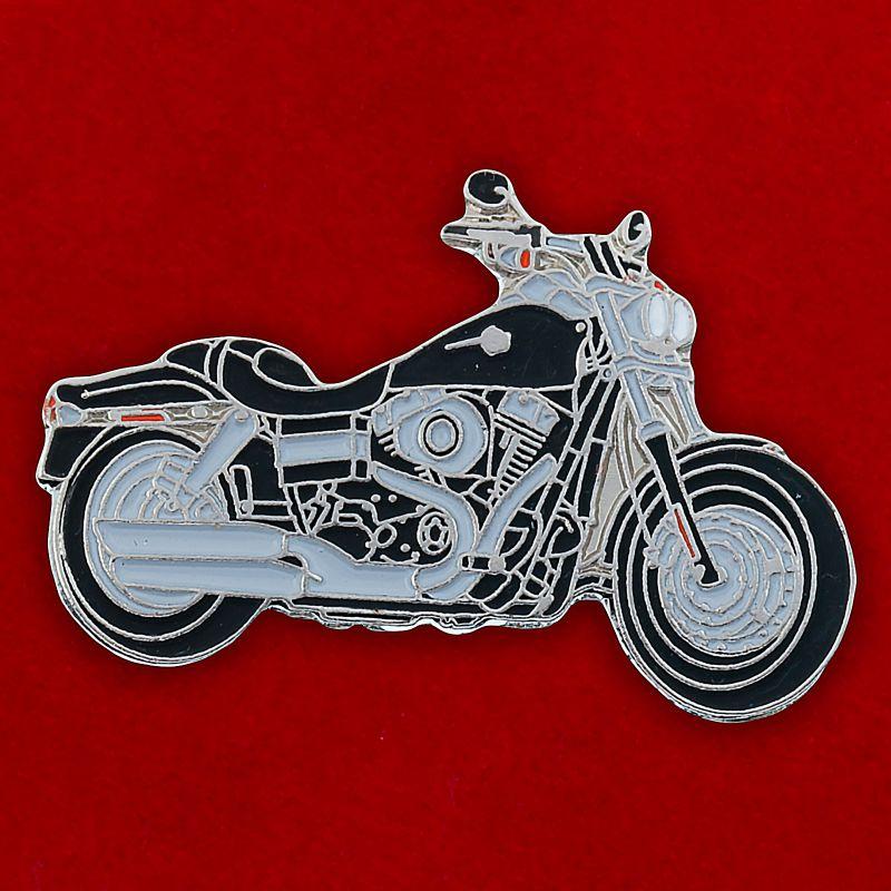"Значок ""Мотоцикл Yamaha"""