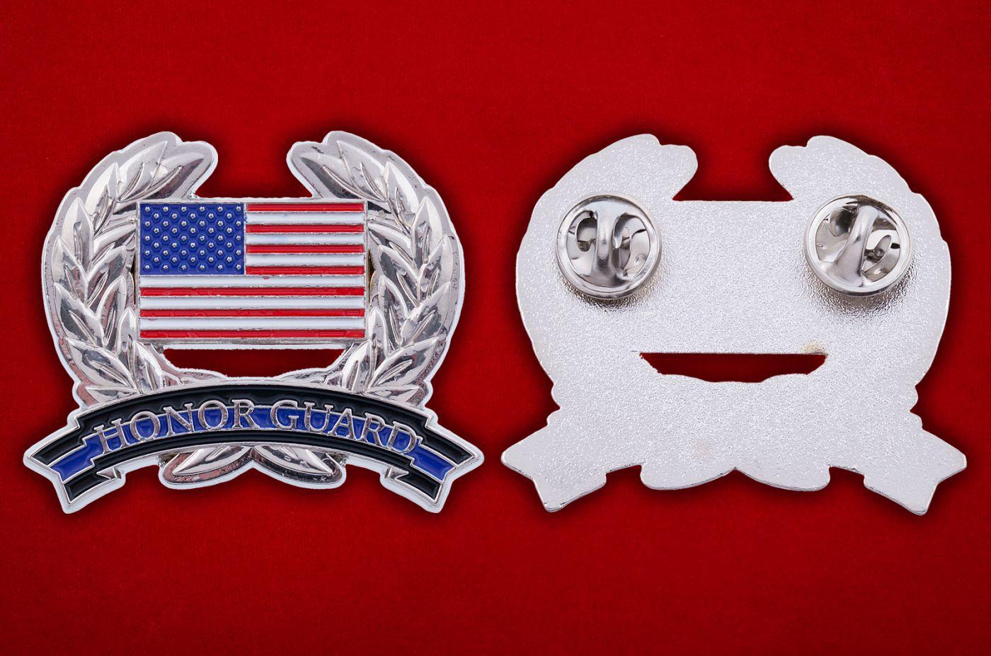 Значок Нацгвардии США - аверс и реверс
