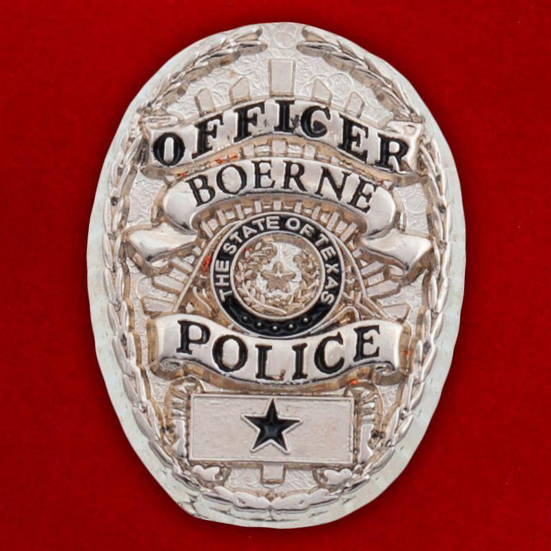 "Значок ""Officer Police Boerne"""