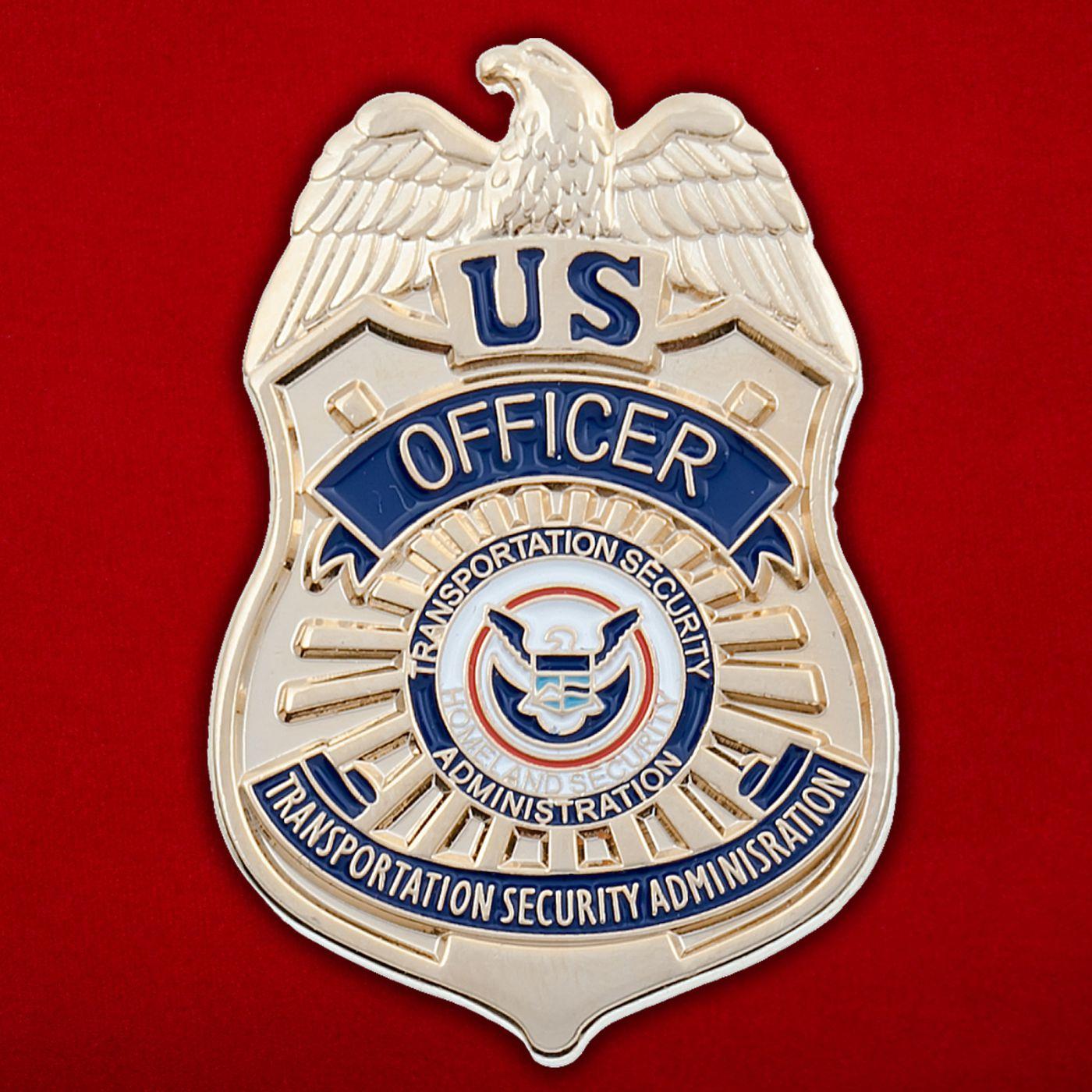 Значок офицера Управления транспортной безопасности США