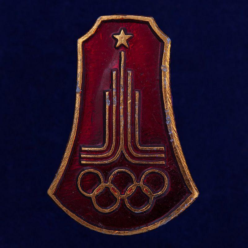 """Значок """"Олимпиада в Москве"""""""