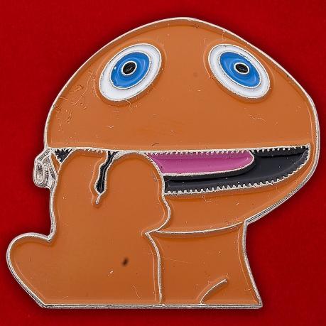 "Значок ""Оранжевый лягушонок"""