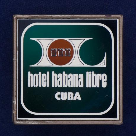 """Значок """"Отель Гавана. Куба"""""""